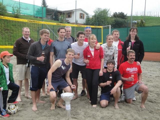 Beachvolleyballplatz Team